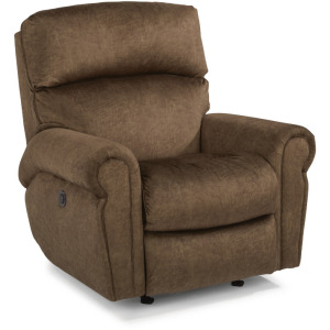 Langston Fabric Power Rocking Recliner