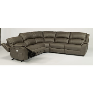 Fabric Power Sectional