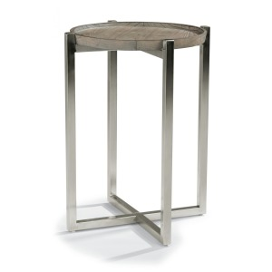 Platform Chairside Table