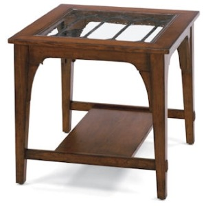 Las Cruces Square End Table
