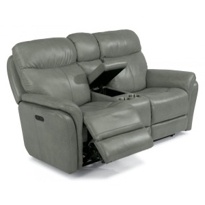 Zoey Power Reclining Loveseat w/ Console