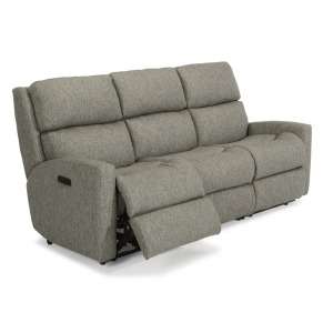 Catalina Fabric Power Reclining Sofa w/Power Headrest