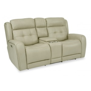 Grant Power Reclining Loveseat w/ Console, Pwr Headrests