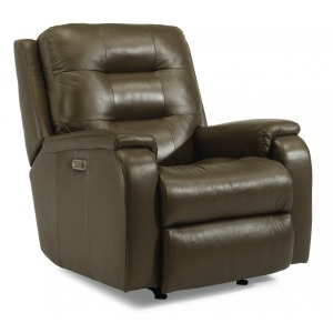 Arlo Power Rocking Recliner w/Power Headrests & Lumbar