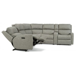 Catalina 6 PC Power Reclining Sectional w/Power Headrests
