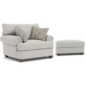 Patterson Chair & Ottoman