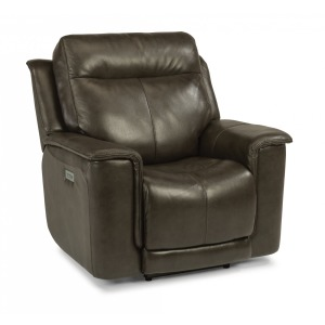 Miller Leather Power Recliner w/Power Headrests