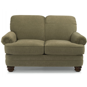 Bay Bridge Loveseat without Nailhead Trim