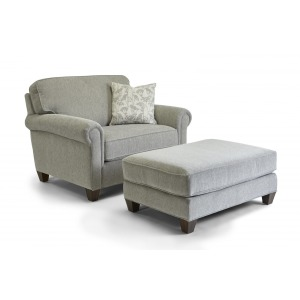 Bennett Chair & Ottoman