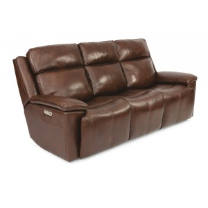 Chance Power Reclining Sofa w/Power Headrests