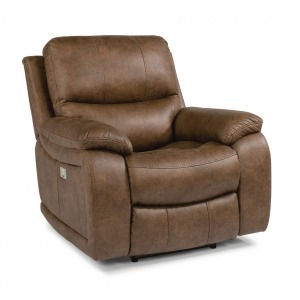 Hendrix Fabric Recliner w/Power Headrest