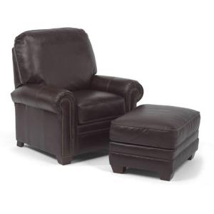 Harrison Leather Chair & Ottoman