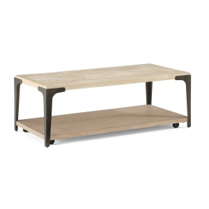 Omni Rectangular Coffee Table w/Casters