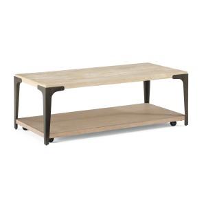 Omni Rectangular Coffee Table w/Casters