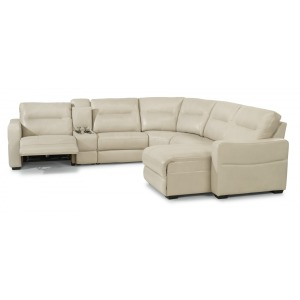 Monet 6 PC Power Reclining Sectional w/Power Headrests