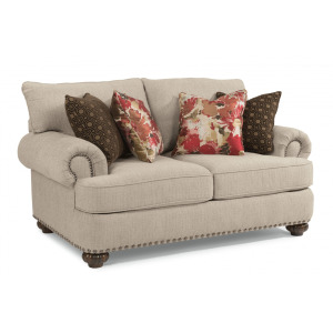 Patterson Loveseat with Nailhead Trim