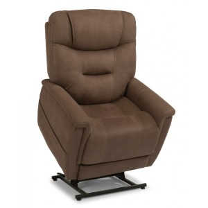 Shaw Fabric Power Lift Recliner W/Power Headrest