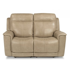 Miller Power Reclining Loveseat w/Power Headrests