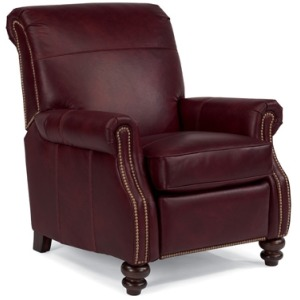 Bay Bridge Leather High-leg Recliner