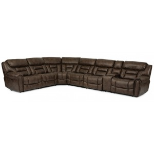 Buster 5 PC Power Reclining Sectional