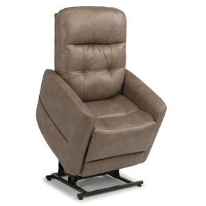 Kenner Fabric Power Lift Recliner w/Power Headrests