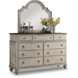 Plymouth Dresser & Mirror