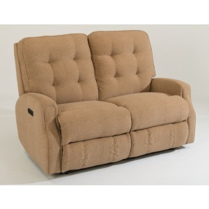 Devon Power Reclining Loveseat without Nailhead Trim