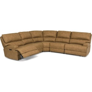 Floyd 5 PC Power Reclining Section w/Power Headrests