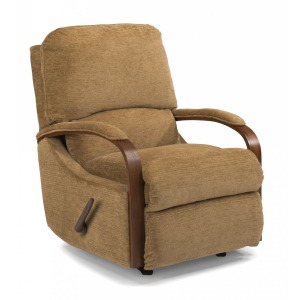 Woodlawn Fabric Rocking Recliner