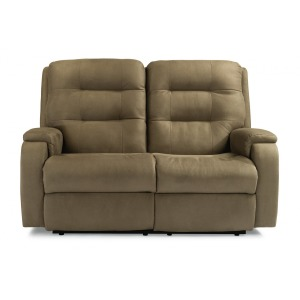Arlo Power Reclining Loveseat w/Power Headrest & Lumbar