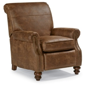 Bay Bridge NuvoLeather Power High-Leg Recliner