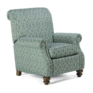 Bay Bridge Power High-Leg Recliner without Nailhead Trim