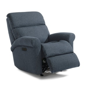 Davis Fabric Power Rocking Recliner w/Power Headrest