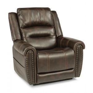 Oscar Fabric Power Lift Reclining Chair w/Power Headrests