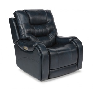 Sinclair Fabric Power Recliner w/Power Headrests