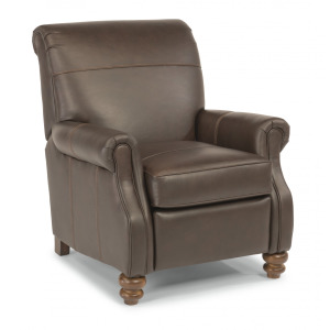 Bay Bridge High-leg Recliner without Nailhead Trim