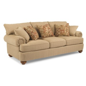 Patterson Fabric Sofa w/Out Nailhead Trim