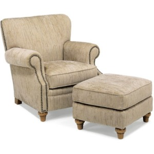 Killarney Chair & Ottoman