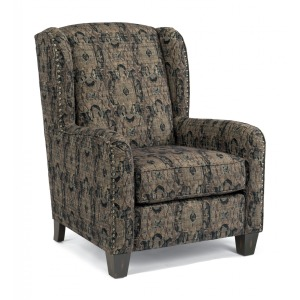 Perth Fabric Chair w/Nailhead Trim