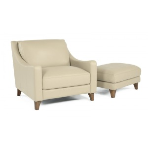 Chair with Ottomans