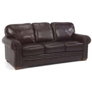 Harrison Leather Sofa with Nails