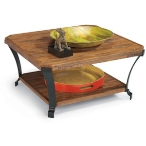 Kenwood Square Cocktail Table W/ Casters
