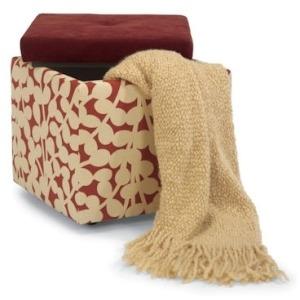 Kube Fabric Storage Kube/Two-Tone Ava