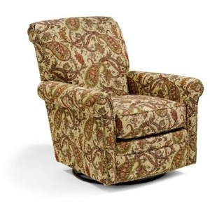 Plaza Swivel Glider w/Nails