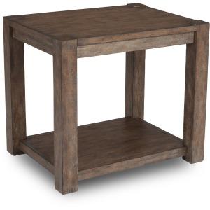 Boulder End Table