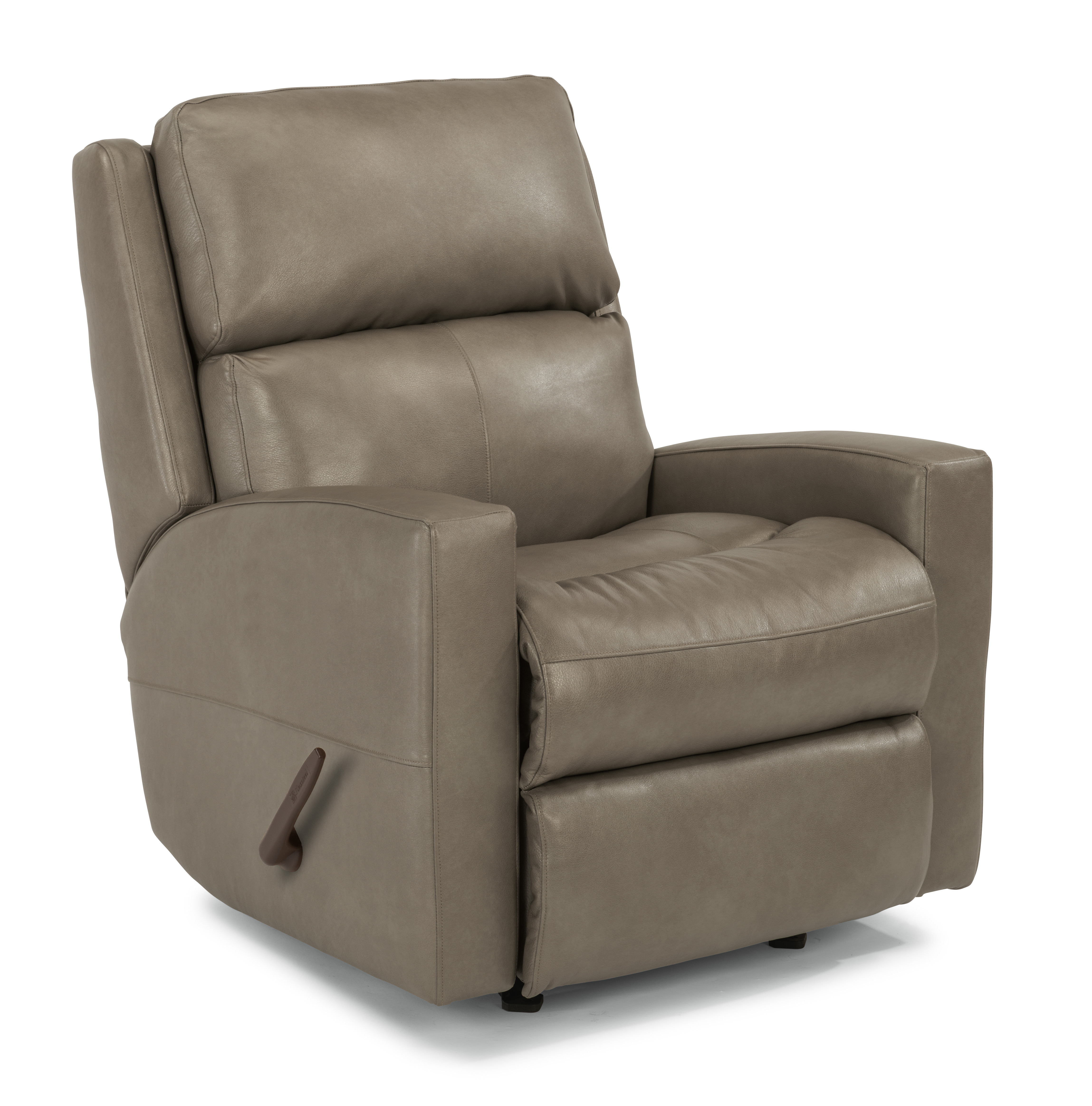 Catalina Leather Swivel Gliding Recliner By Flexsteel Furniture The Furniture Mall
