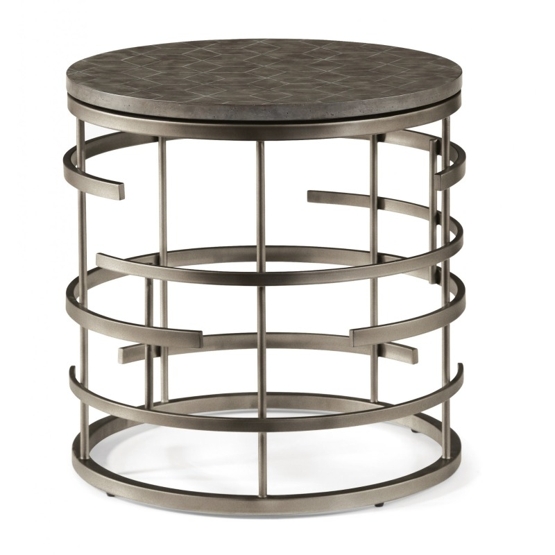 Halo Lamp End Table