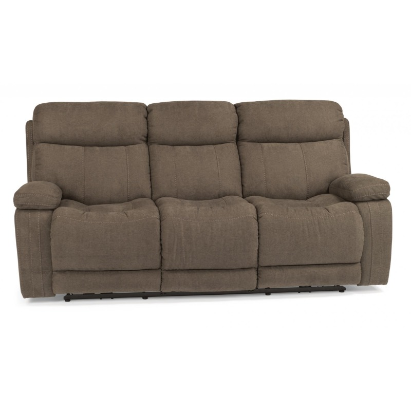 Fabulous Fabric Power Reclining Sofa By Flexsteel Furniture 1484 Gmtry Best Dining Table And Chair Ideas Images Gmtryco