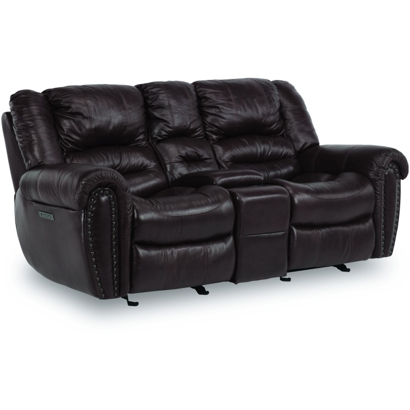 Town Leather Power Loveseat 1010-64PH in 048-62