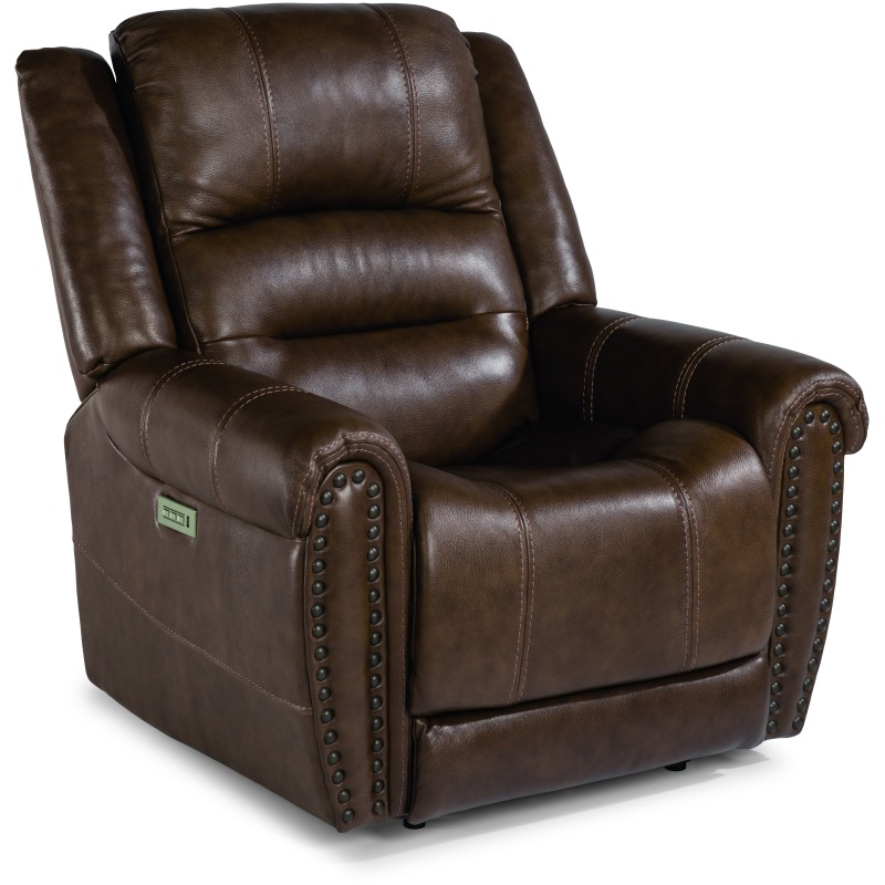 Oscar Power Recliner with Power Headrests 1591-50PH in 375-72
